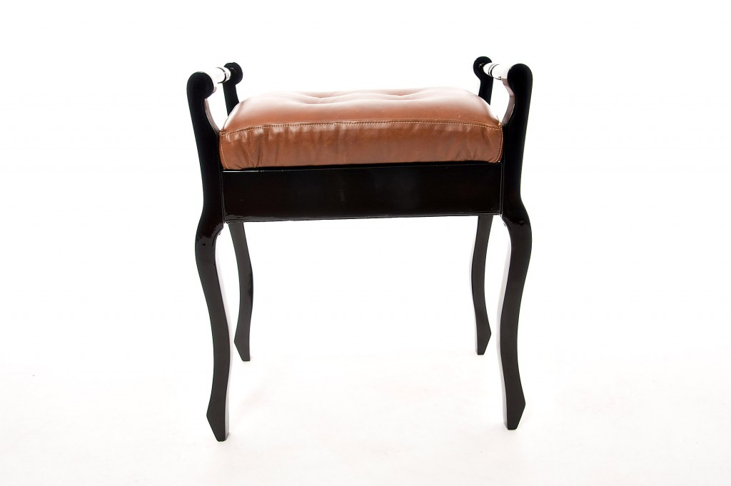 Piano Stool With Storage Under The Seat E1 Works